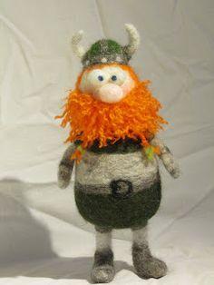 Творчество: Mina nya vänner jag tovigt.Tovning ull min nya hob... handmade . felts. toys
