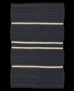 Asia | Zahau Kaha Chin people, Burma | Shawl | Cotton | !9th Century | 84 x 51 ""