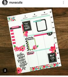 Planners and Organizers - Kerrie Legend Planner Layout, Goals Planner, Planner Ideas, Planner Pages, Life Planner, Happy Planner, Planner Organization, Organizing Life, Filofax