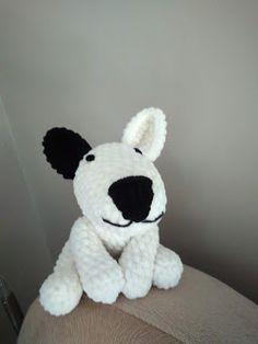 Szydłaki Cudaki - Amigurumi - Handmade with love: pies Crochet Toys, Babe, Teddy Bear, Handmade, Animals, Crochet Throw Pattern, Tejidos, Patterns, Kitty