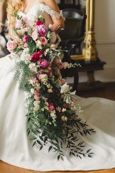 Photography: JoPhoto - www.JoPhotoOnline.com Read More: http://www.stylemepretty.com/little-black-book-blog/2014/07/02/vintage-pink-gold-bridal-inspiration/