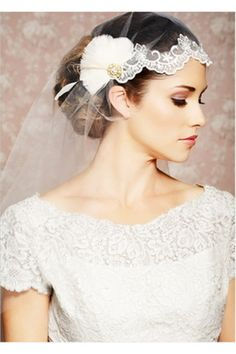 Véus de Noiva Vestido De uma camada Peña Tule