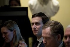 """The bank maintained this week that the session was held as part of a new business strategy and was conducted with Kushner in his role as the head of his family's real estate business. The White House says the meeting was unrelated to business and was one of many diplomatic encounters the soon-to-be presidential adviser was holding ahead of Donald Trump's inauguration.""..."