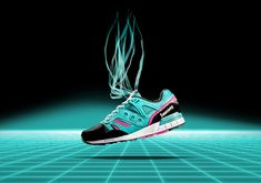 Saucony Grid SD Inspired By The 1990's 16-Bit Gaming Revolution - SneakerNews.com