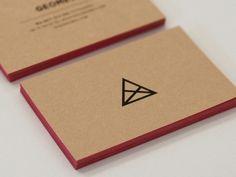 Graphic Design // Business Cards / Graphic design inspiration — Designspiration Minimalist Business Cards, Cool Business Cards, Business Card Design, Corporate Design, Corporate Identity, Design Typography, Logo Design, Identity Design, Graphic Design Inspiration