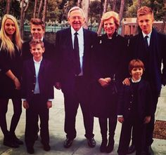 queensofias:  Photo posted by Marie-Chantal on Instagram-King Constantine and Queen Anne-Marie with their grandchildren, the children of Crown Prince and Princess Pavlos-Maria Olympia, Achileas, Odysseas, Aristidis and Constantine