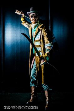 Green Arrow Cosplay by Brian from DC Steampunk Cosplay #renratsguide