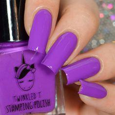 Purple Acrylic Nails, Square Acrylic Nails, Best Acrylic Nails, Purple Nails, Acrylic Nail Designs, Gorgeous Nails, Love Nails, Pretty Nails, Gel Nails