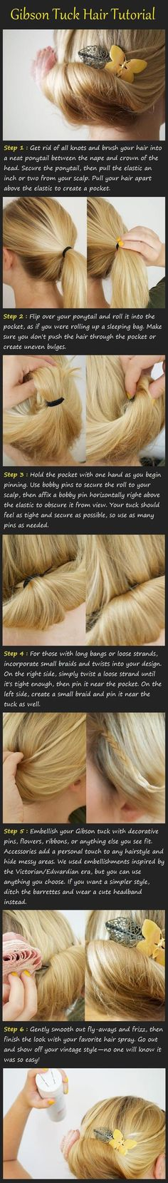 Long Hair Styles How To | 10/337 | | Tutorials, Videos, Pictures for Long Hairstyles |