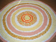 ★ Lively Yellow ★ Sharing for KarenHughes Kreations - Sunshine Colors of Yellows and Oranges Round Rug - For Etsy https://www.facebook.com/permalink.php?story_fbid=1563545607229144&id=100007211597708