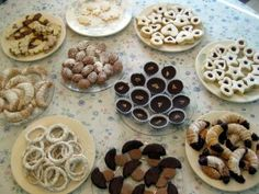 Traditional Slovak cookies...can't wait to try these.. P-: