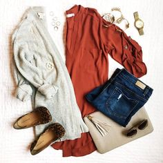 30 ways to wear fall layers, outfit inspiration