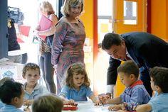 Ignacio González inaugura el Colegio Público Bilingüe Plácido Domingo