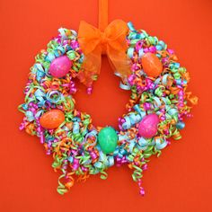 How to make this Easter Wreath