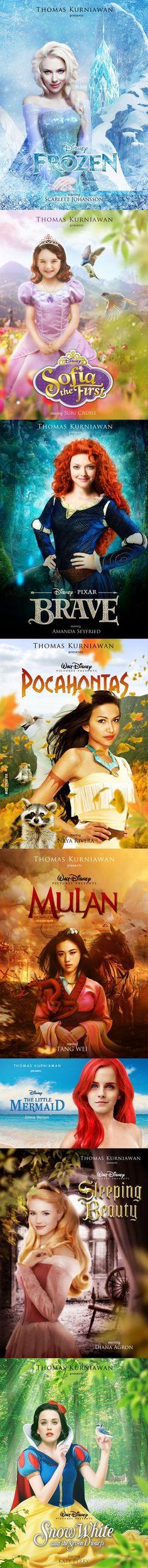 Modern movie posters: