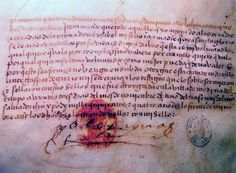 The testament of Isabella with signature, it contains more then 25 pages