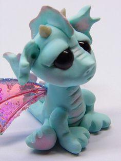 polymer clay dragon - Google Search