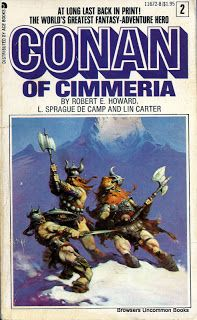 Conan of Cimmeria (classic original Conan by Robert E Howard) cover art by Frank Frazetta Ace Books, Cool Books, Sci Fi Books, Conan Comics, Bd Comics, Frank Frazetta Conan, Caricature, Conan Der Barbar, Robert E Howard