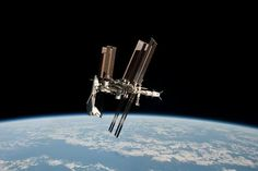 International Space Station and space shuttle Endeavor