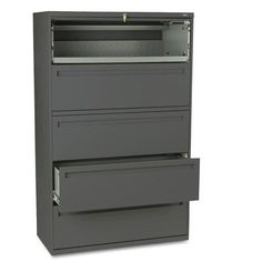 """HON 700 Series 42""""W 5-Drawer File Finish: Charcoal"""
