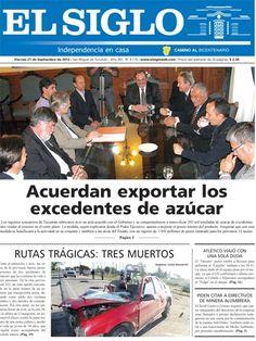 Diario El Siglo - Viernes 21 de Septiembre de 20 12