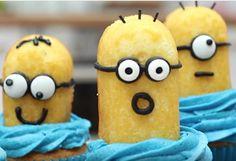 How to bake Minion cupcakes - easy recipe