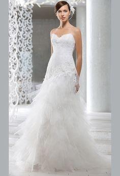 Свадебное платье рыбка с кружевным корсетом | Wedding dress fish with a lace corset