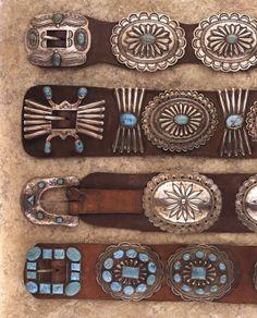 Concho Belts