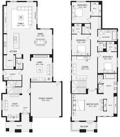 Fushia Cottage - Floor Plans | Irish Cottage Plans | House plans ...
