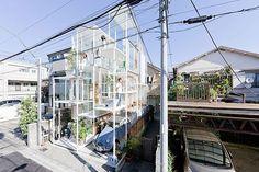 Transparent House in Japan | Bored Panda