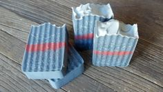 Activated charcoal soap.  Loved how the activated charcoal has a speckled look with a grey-ish tone to it.  This soap was inspired by the movie Thor - the black and red special effect in the movie.  Take a peek @ www.scentandsensibility.com.  Like us on www.facebook.com/scentandsensibility.