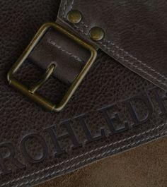 ROHLEDER | Grillschürze aus Leder | LederschürzeRohleder Crickets