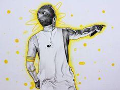 Yellow |-/ Clique Art
