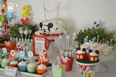 Little Wish Parties | Mickey Mouse Clubhouse 2nd Birthday Party | https://littlewishparties.com