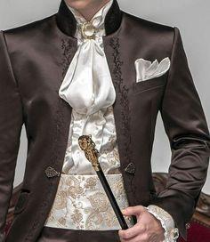 New Designs 2 Pieces Brown Satin Tuxedo Italian Slim Fit Men Suit