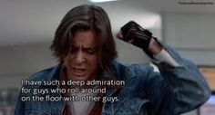 The Breakfast Club. Lol. This part was funny