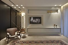 Valorizando os espaços. Veja: http://casadevalentina.com.br/projetos/detalhes/valorizando-os-espacos-573  #decor #decoracao #interior #design #casa #home #house #idea #ideia #detalhes #details #style #estilo #casadevalentina