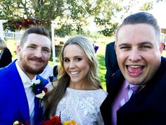 Melissa found the guy who bugged her the least  Michael & Melissa #marriedbyjosh at @albertriverwine with @sunlit_studios & @cocoandconfetti #goldcoastwedding #goldcoastcelebrant #goldcoastweddings #celebrant #marriagecelebrant #weddingcelebrant