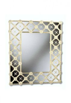 Murano Glass Mirror #822s