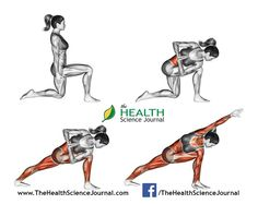 © Sasham | Dreamstime.com - Yoga exercise. Revolved Side Angle Pose. Parivrtta Parsvakonasana. Female