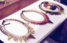 Beautiful necklaces.. Picture by Trines Wardrobe