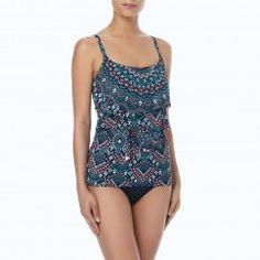 9ec11e41ec138 Coco Reef Aura Ruffle Bra Sized Underwire Tankini Top - Painted Desert  Painted Desert, Bikini