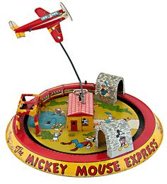 "MICKEY MOUSE EXPRESS"" MARX WINDUP , via Flickr"