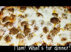 What's for dinner?: Meatball Sub Bubble Up Bake *** Bubble Up, Meatball Subs, Homemade Sauce, Pizza Dough, Favorite Recipes, Snacks, Meals, Easy Dinners, Baking