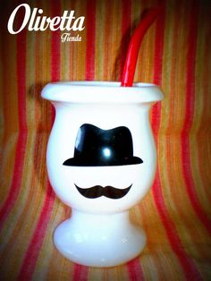 Mate Mustachio Mugs, Tableware, The Originals, Dinnerware, Cups, Tumbler, Dishes, Mug, Serveware