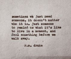 Rm Drake Quotes If We Move. QuotesGram