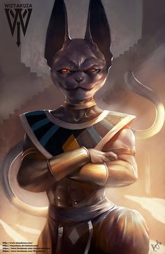 Beerus Bills Dragon Ball Z Super Battle of the Gods by Wizyakuza