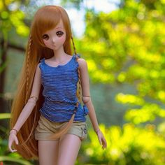 Mirai Suenaga Smart Doll by rhenomodo