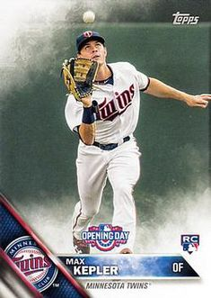 2016 Topps Opening Day #OD-43 Max Kepler Front