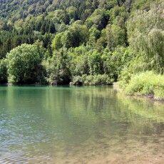 Landschaft-Camping-Lido am schliersee